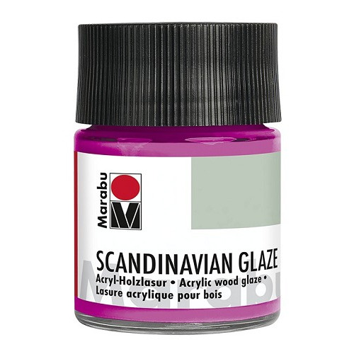 SCANDINAVIAN GLAZE, glinsterend rose 50 ml