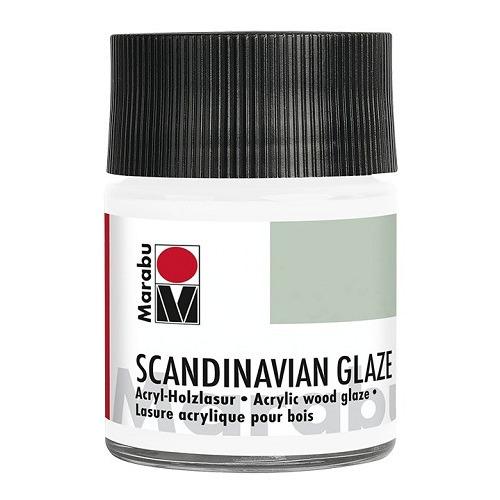 SCANDINAVIAN GLAZE, edelweis 50 ml