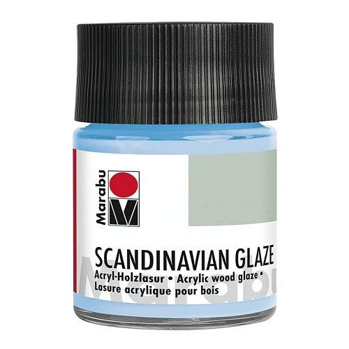 SCANDINAVIAN GLAZE, lichtblauw 50 ml