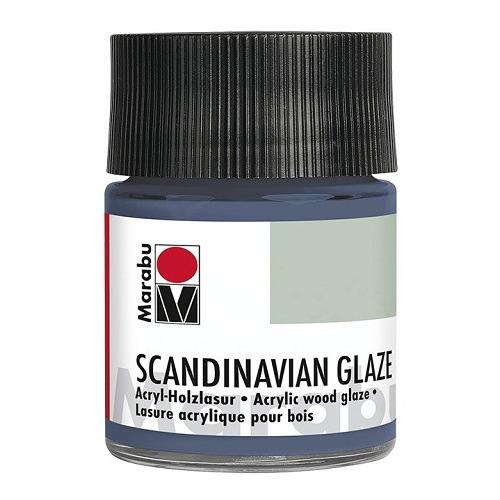 SCANDINAVIAN GLAZE, grijsblauw 50 ml