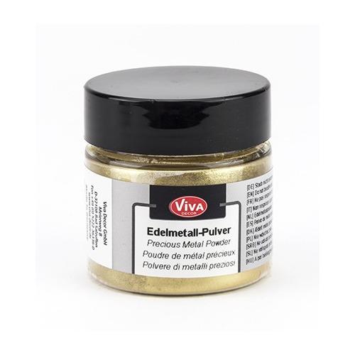 Edelmetall Pulver Gold