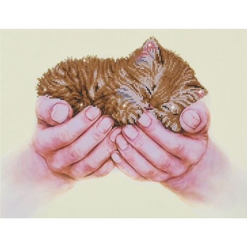 Diamond Dotz - 52 x 40cm - Precious Kitten