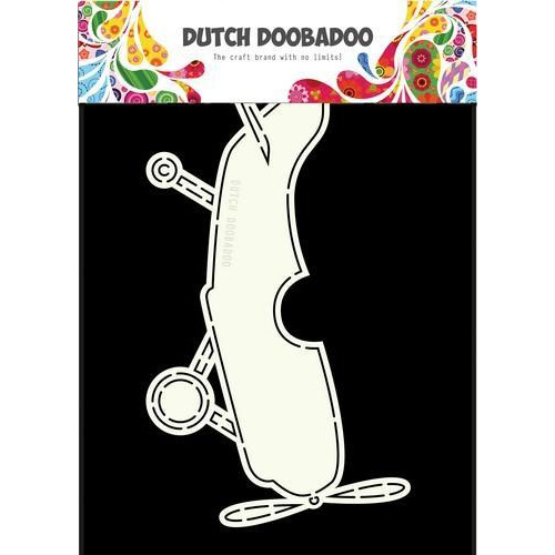 Dutch Doobadoo Dutch Card Art vliegtuig 470.713.666 A5 (05-18)