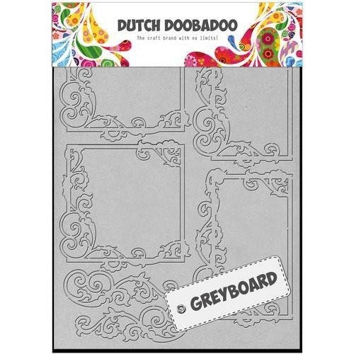 Dutch Doobadoo Dutch Greyboard Frames vierkant A5 492500002 (05-18)