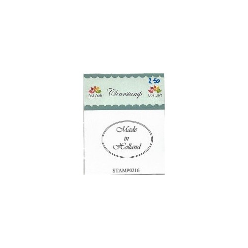 dixi craft stempel - made in holland