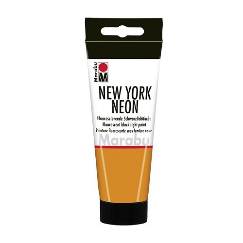 NEW YORK NEON, neon-oranje 324, 100 ml Tube