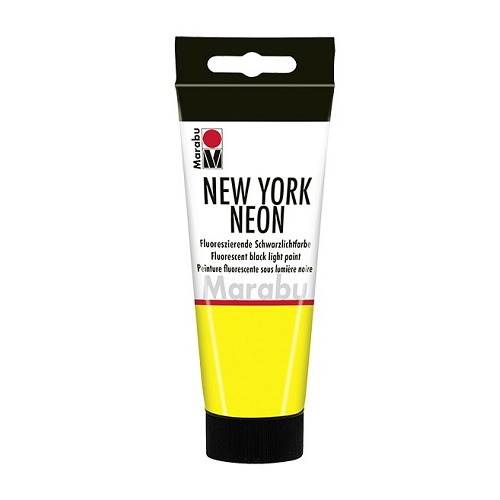 NEW YORK NEON, neon-geel 321, 100 ml Tube