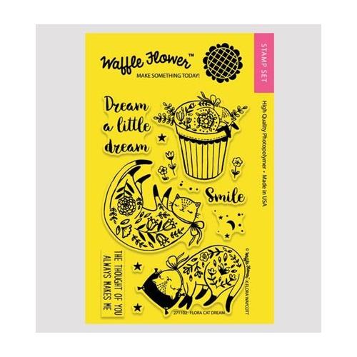 Waffle Flower - flora cat dream