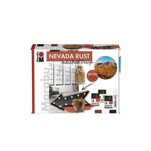NEVADA RUST set INDUSTRIAL DESIGN