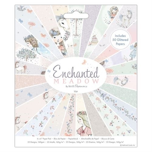 "6 x 6"" Paper Pad (50pk) - Enchanted Meadow"