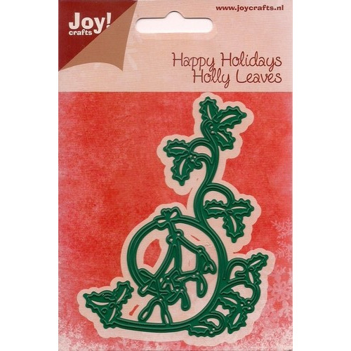 Joy! crafts - Die - Cutting & embossing - Happy Holidays - Holly Leaves