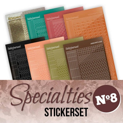 Specialties Stickerset 8