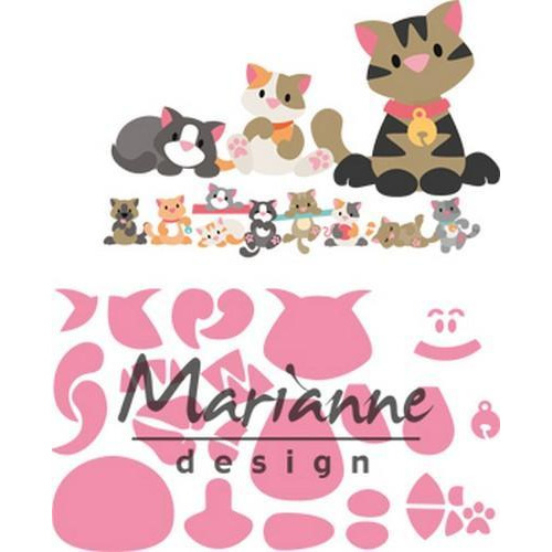 Marianne D Collectable Eline`s kitten COL1454 118x91 mm (06-18)