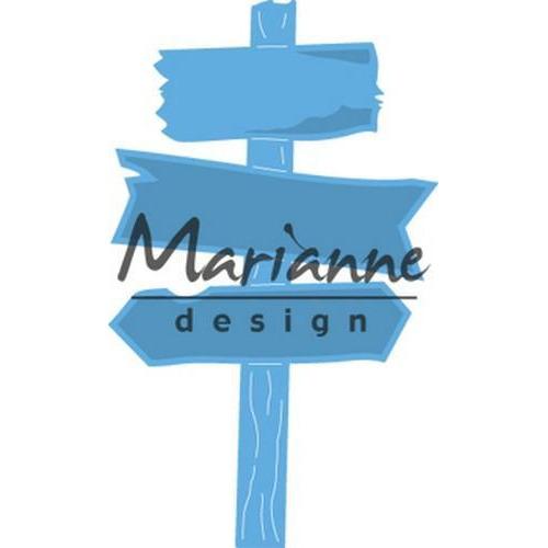 Marianne D Creatable houten wegwijzer LR0535 49x81 mm (06-18)