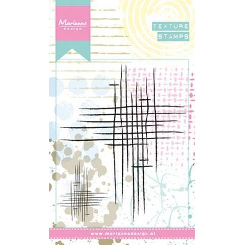 Marianne D Clear Stamps Doodle stripes MM1624 (06-18)