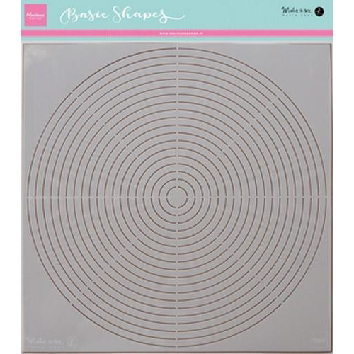 Marianne D Stencils Karin's basic shape: cirkel PS8006 (06-18)