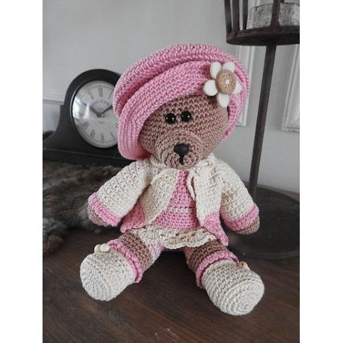Haakpakket Funny bear Mary v2