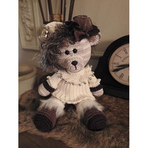Haakpakket Funny bear Whitney