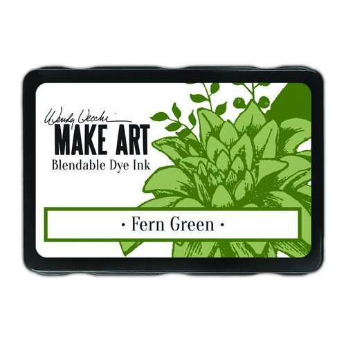 Ranger MAKE ART Dye Ink Pad Fern Green WVD62592 Wendy Vecchi 5,8x8,3cm (05-18)
