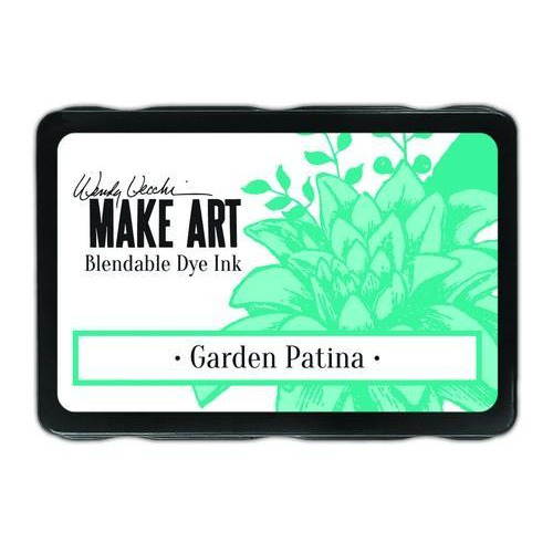 Ranger MAKE ART Dye Ink Pad Garden Patina WVD62608 Wendy Vecchi 5,8x8,3cm (05-18)