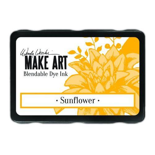 Ranger MAKE ART Dye Ink Pad Sunflower WVD62653 Wendy Vecchi 5,8x8,3cm (05-18)