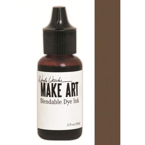 Ranger MAKE ART Dye Ink Pad Reinkers Acorn WVR62684 Wendy Vecchi 15ml  (05-18)