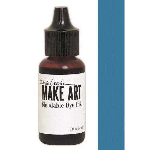 Ranger MAKE ART Dye Ink Pad Reinkers Bluebird WVR62691 Wendy Vecchi 15ml  (05-18)