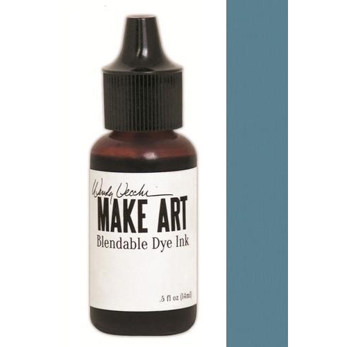 Ranger MAKE ART Dye Ink Pad Reinkers Cornflower Blue WVR62707 Wendy Vecchi 15ml  (05-18)
