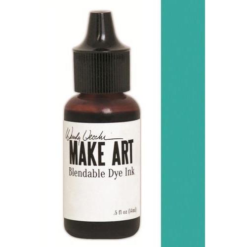 Ranger MAKE ART Dye Ink Pad Reinkers Garden Patina WVR62721 Wendy Vecchi 15ml  (05-18)