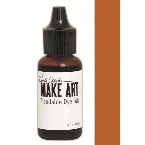 Ranger MAKE ART Dye Ink Pad Reinkers Orange Blossom WVR62738 Wendy Vecchi 15ml  (05-18)