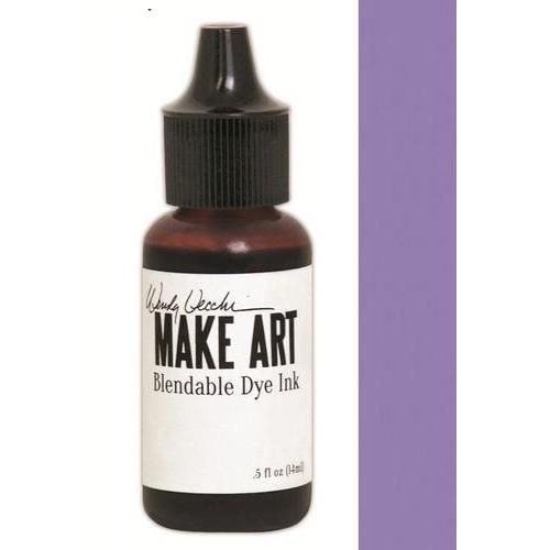 Ranger MAKE ART Dye Ink Pad Reinkers Violet WVR62783 Wendy Vecchi 15ml  (05-18)
