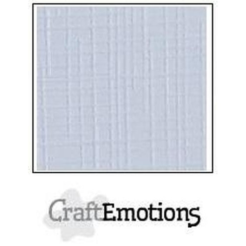 CraftEmotions linnenkarton 100 vel klassiek wit Bulk 30,0x30,0cm / LC-102