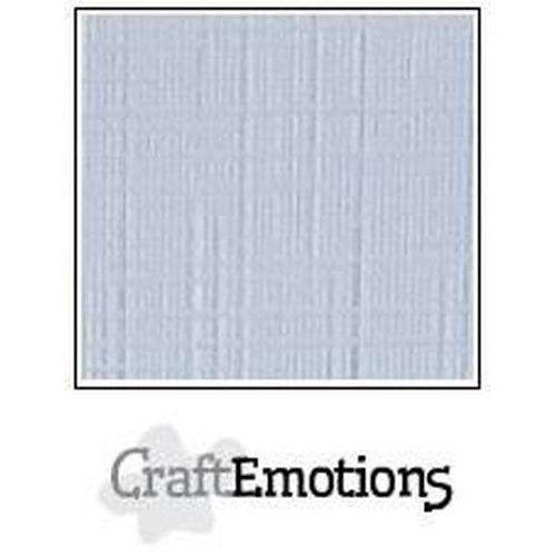 CraftEmotions linnenkarton 10 vel diamant wit 30,0x30,0cm / LC-100