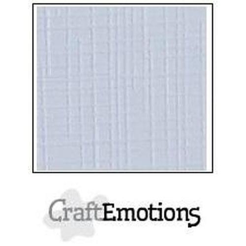 CraftEmotions linnenkarton 10 vel klassiek wit LHC-102 A4 250gr