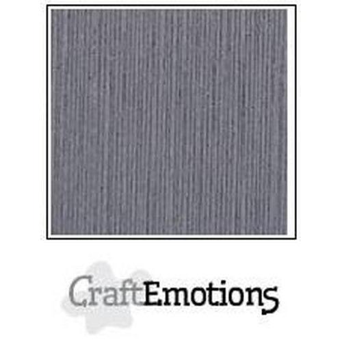 CraftEmotions linnenkarton 10 vel graniet grijs 27x13,5cm 250gr / LHC-74