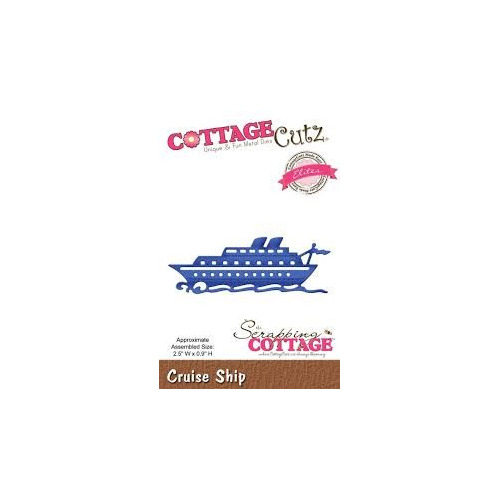 Scrapping Cottage CottageCutz Cruise ship