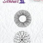 "Silhouette clear stamps ""flowers-17"""