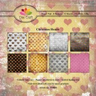 dixi craft - paperpack -  Christmas Heart