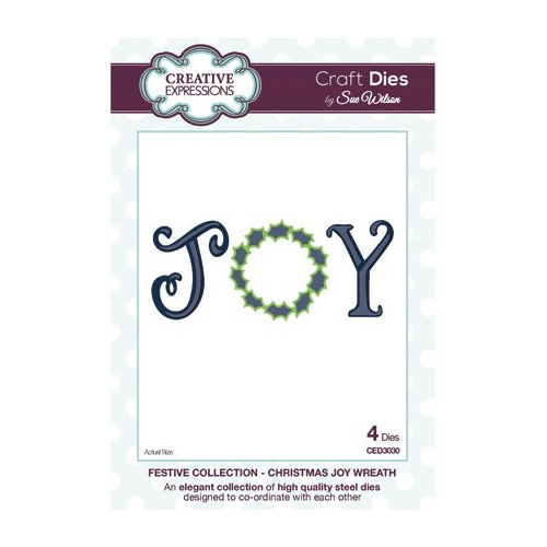 The Festive Collection Christmas Joy Wreath
