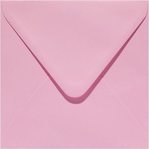 Papicolor Envelop vierk. 14cm babyroze 105gr-CV 6 st 303959 - 140x140 mm