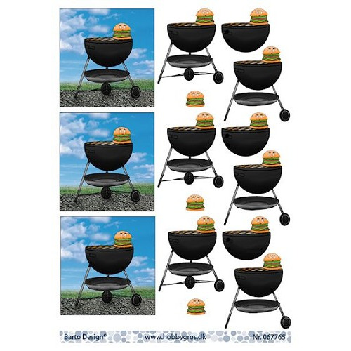 knipvel A4 barbecue