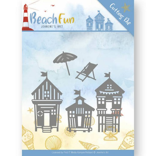 Dies - Jeanine`s Art - Beach Fun - Beach Houses