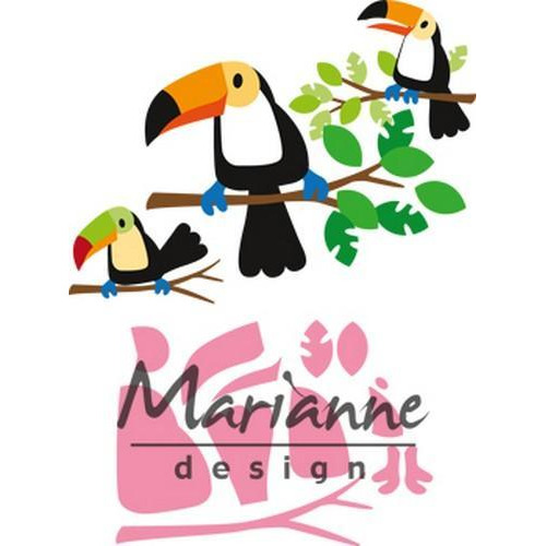 Marianne D Collectable Eline's toekan COL1457 83x73mm (07-18)