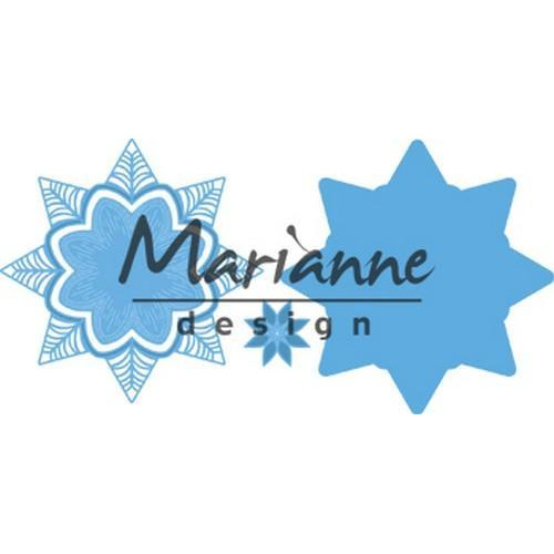 Marianne D Creatable Petra`s botanische ster LR0540 133x133mm (07-18)