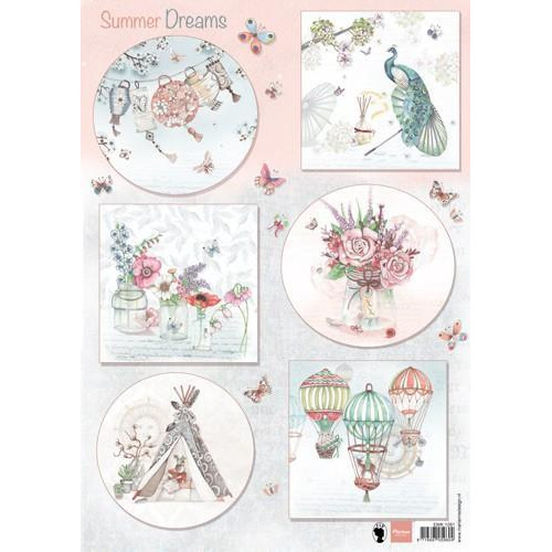 Marianne D 3D Knipvellen Els Summer dreams EWK1261  (07-18)