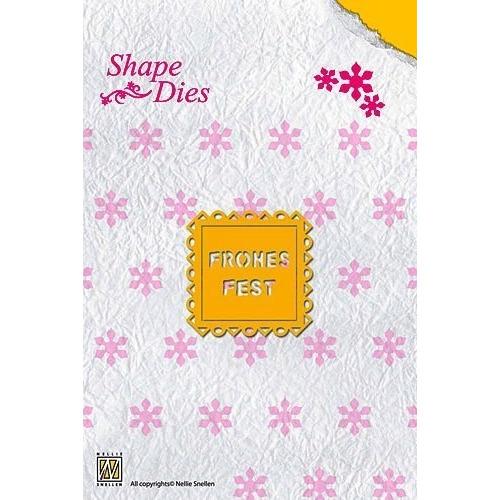 Nellie Snellen - Shape Dies - Frohes Fest