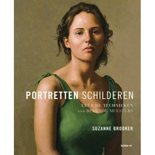 Kosmos Boek - Portretten schilderen Brooker, Suzanne (07-18)