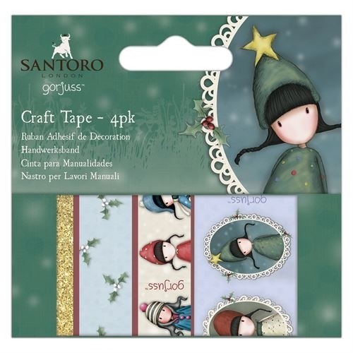 Craft Tape (4pk) - Santoro