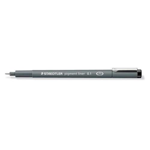 Staedtler pigment liner fineliner 0,1 mm zwart 308 01-9