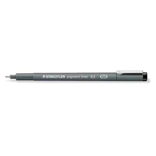 Staedtler pigment liner fineliner 0,2 mm zwart 308 02-9
